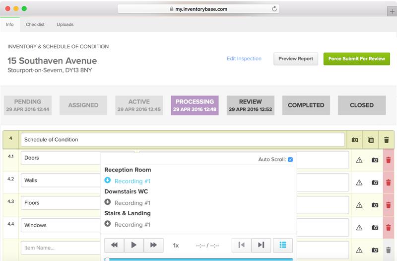 Built-in Audio Transcription